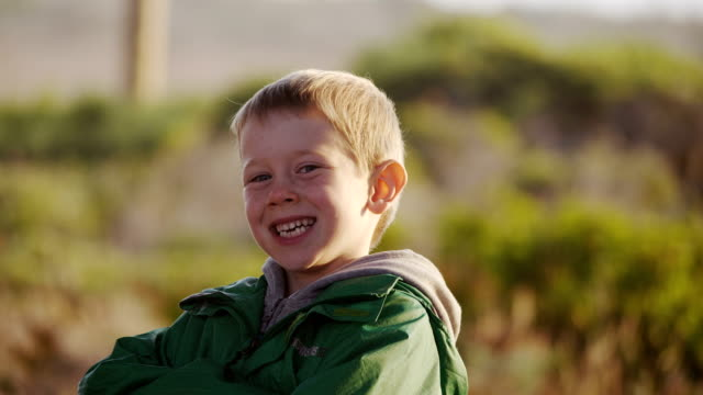 Boy Portrait of 7 years old. one boy only stock videos & royalty-free footage