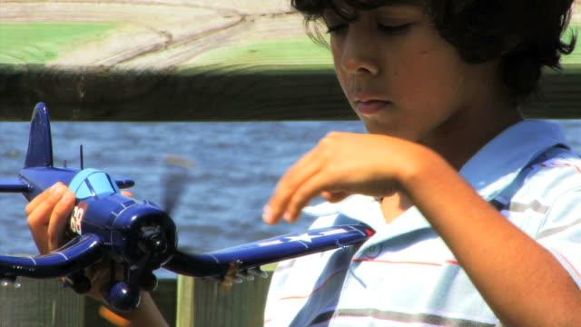 Boy with Plane Series V HD