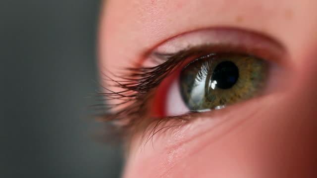 人の眼 - まつげ点の映像素材/bロール
