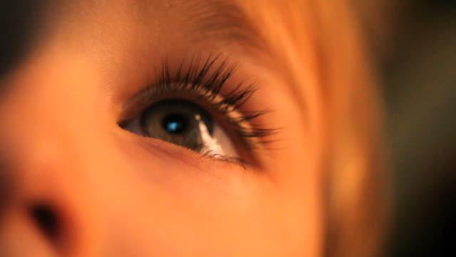 Boy's eyes video