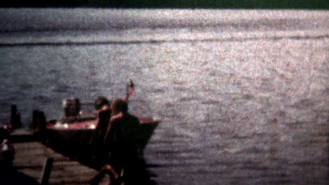 (8mm Vintage) 1966 Boys Going Snorkeling Down At The Lake video