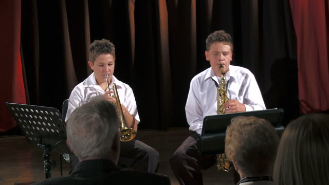 HD: Boys Playing Instruments video