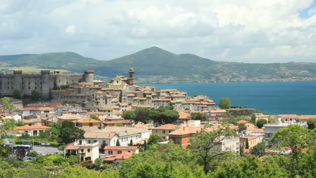 Bracciano view pan video