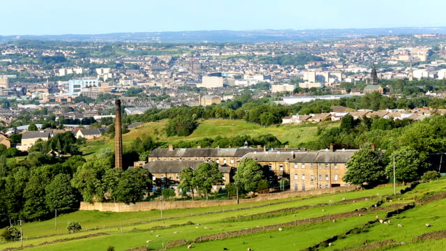 Bradford rural and urban scenery video
