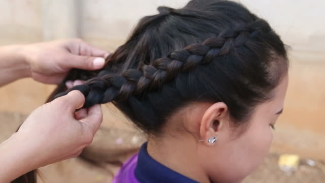 Braiding Hair video