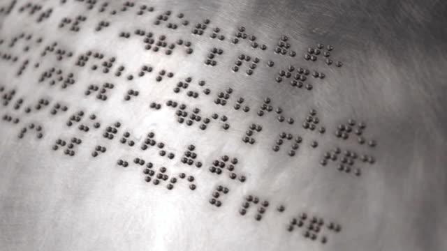 Braille video