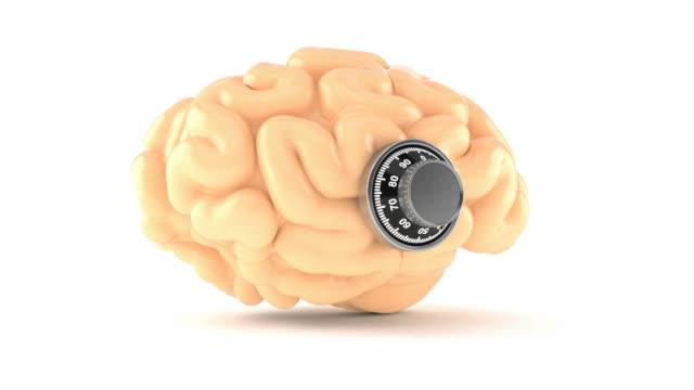 Brain with combination lock video