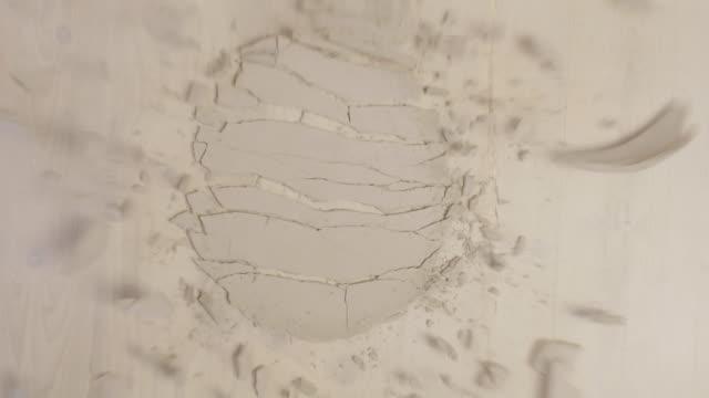 Braking of Clay Plate