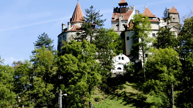 Bran Castle  known as Dracula Castle video