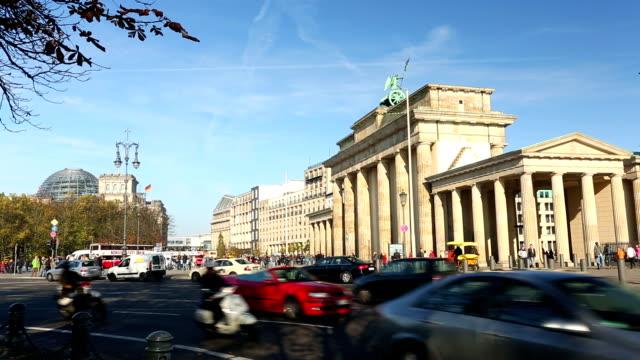 Brandenburg Gate, Real Time + Audio video