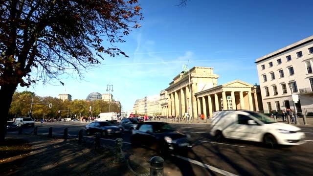 Brandenburg Gate, time lapse video
