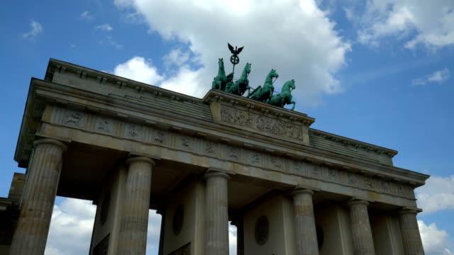 ベルリンのブランデンブルク・トー、タイムラプス ビデオ