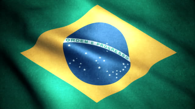 brasil flagga 4k - brasilien flagga bildbanksvideor och videomaterial från bakom kulisserna
