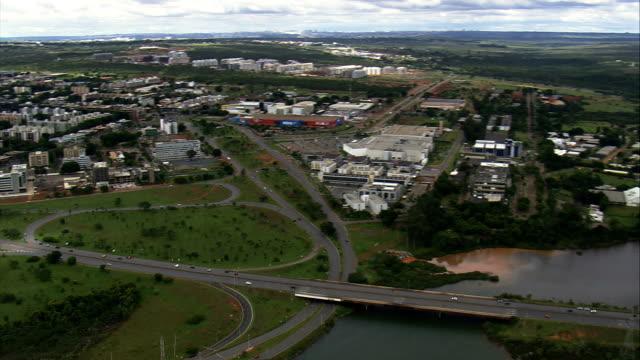 Brasília, Ala Norte-Vista aérea-Distrito Federal, Brasil - vídeo