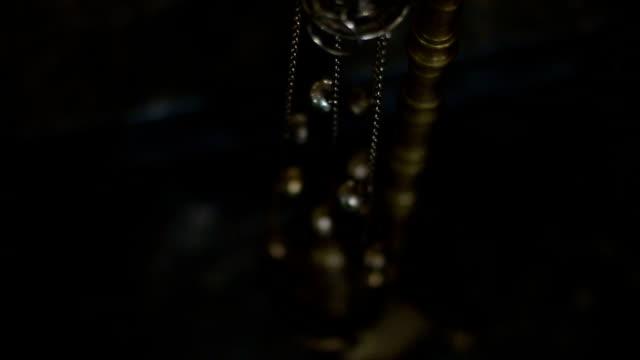 Brass Incense Holder in Church video