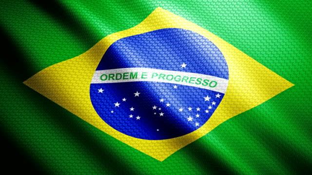 Brazil Flag 4K video