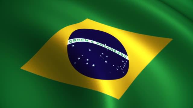 Brazil Flag Loopable video