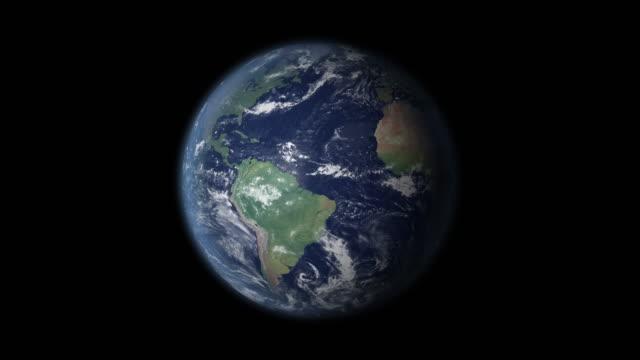 vídeos de stock, filmes e b-roll de brasil em foco zoom na globo - brazil map