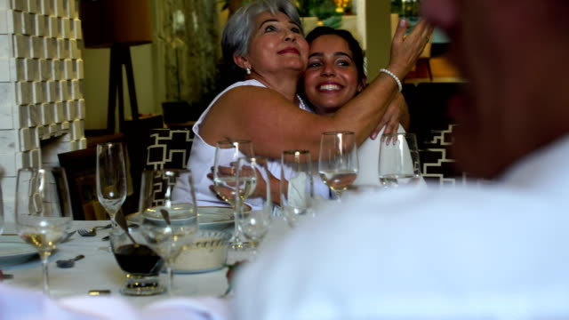 Brazilian Family at New Year Dinner video