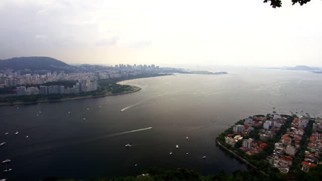 Brazilian overlook Rio De Janeiro SHOT ON RED EPIC video