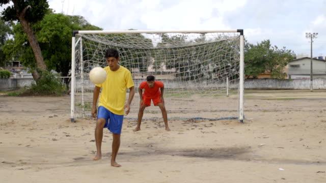 Jogador de futebol brasileiro - vídeo