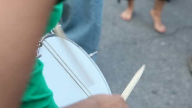 Brazilian street festival video