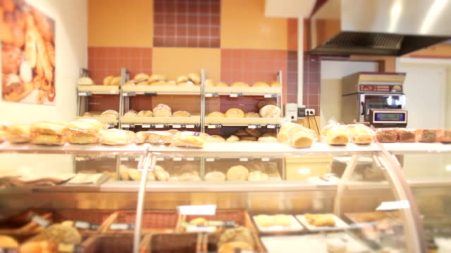 Bread and pastry shop video