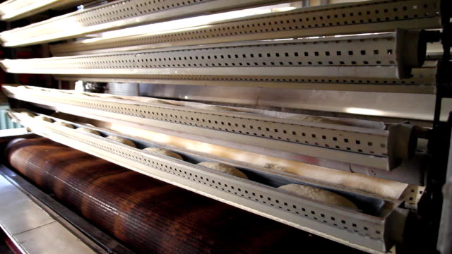 Bread factory production video