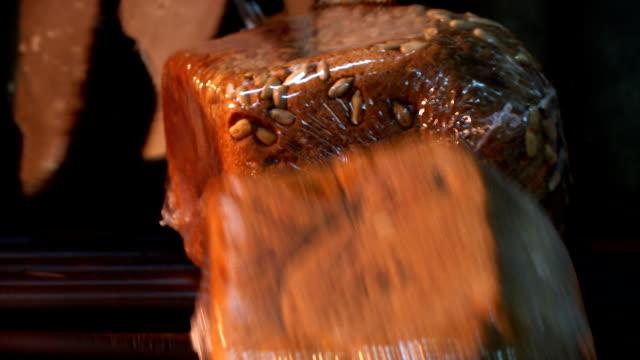パン - 食パン点の映像素材/bロール