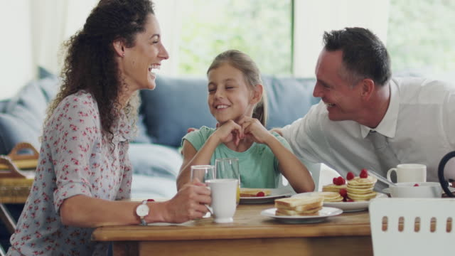 Breakfast is family time video