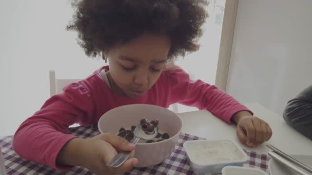 breakfast - pajamas stock videos & royalty-free footage