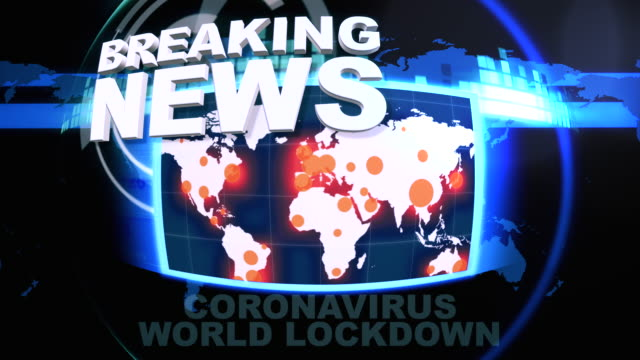 Breaking News. Countries Close Borders Due To COVID-19
