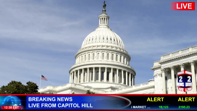 Breaking News From The US Capital video