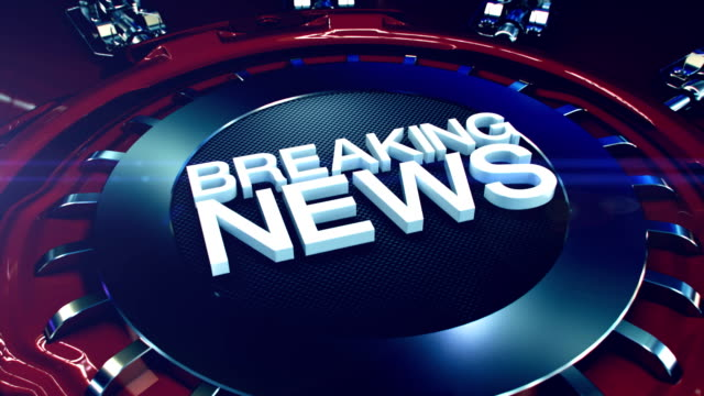 Breaking News intro in 4K Breaking News intro in 4K. breaking stock videos & royalty-free footage