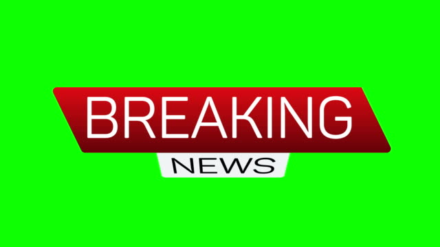Breaking news live motion banner. Business technology news background splash screen. Breaking news live motion banner. Business technology news background splash screen. Available in 4K FullHD and HD video render footage with chroma key green screen breaking stock videos & royalty-free footage