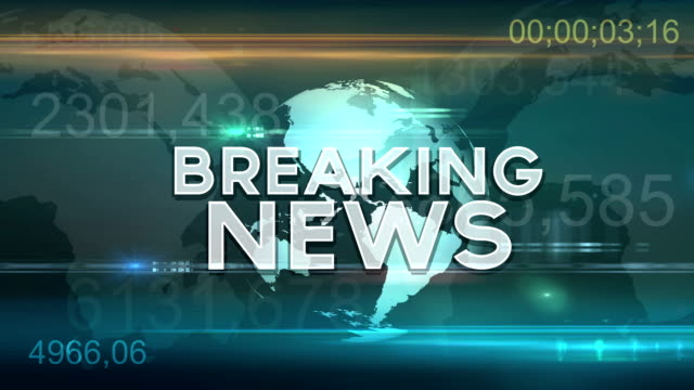 Breaking News Motion Graphic video