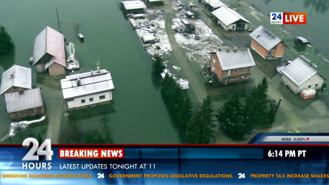 Breaking News Of The Flooding video