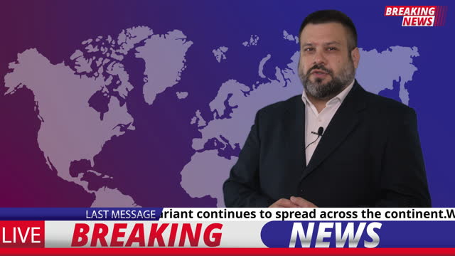 Breaking news video