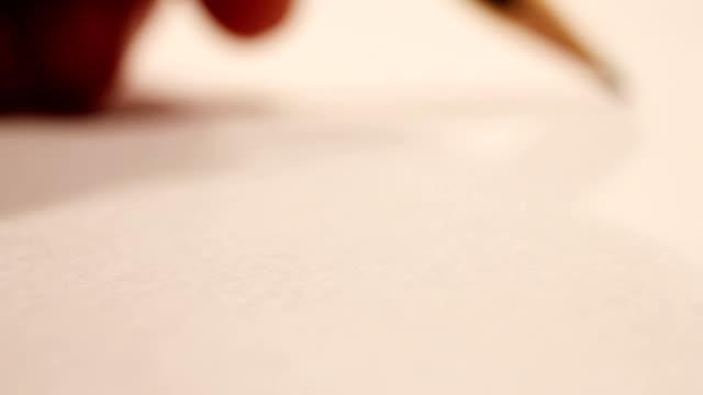 breaking pencil - blyertspenna bildbanksvideor och videomaterial från bakom kulisserna