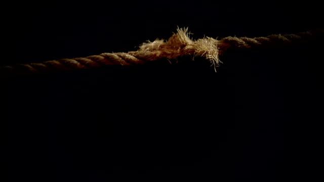 Breaking Rope in Super Slow Motion