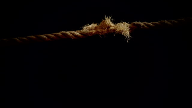 Breaking Rope in Super Slow Motion video