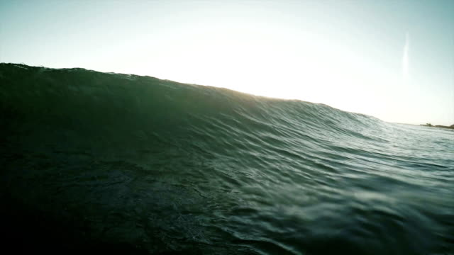 breaking wave video