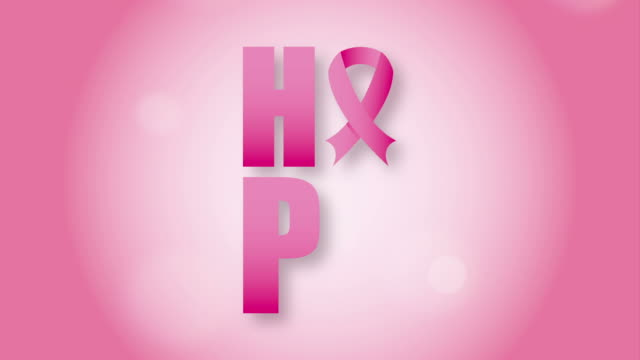 rak piersi świadomości design - breast cancer awareness filmów i materiałów b-roll