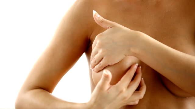stockvideo's en b-roll-footage met borst examen. - breast cancer