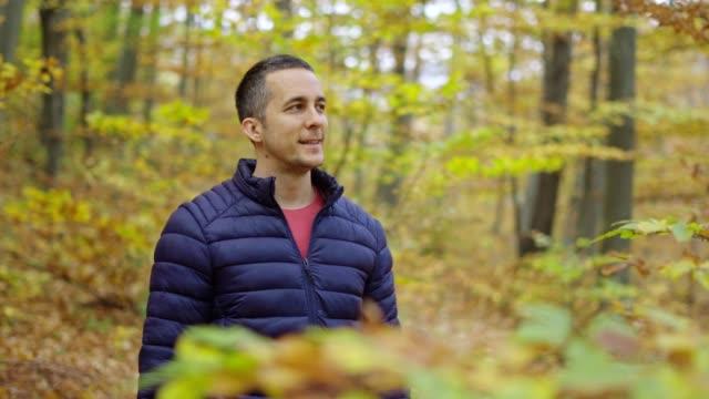 在森林中呼吸新鮮空氣 - 清新 個影片檔及 b 捲影像