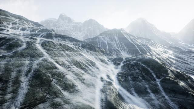 breathtaking view on northern landscape - fiordo video stock e b–roll