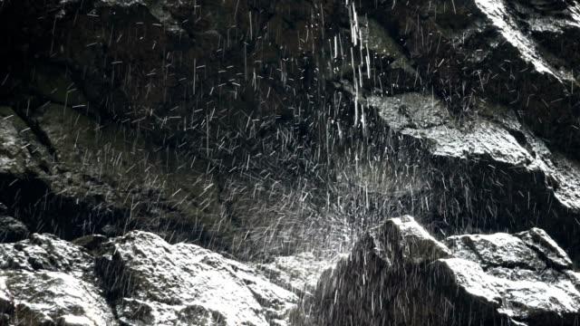vídeos de stock e filmes b-roll de breitachklamm, canyon, erosion, allgäu, bavaria, tourismus, miracle of nature, 4k - material de construção