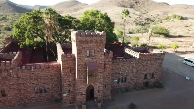 Brick Castle in Namibia.