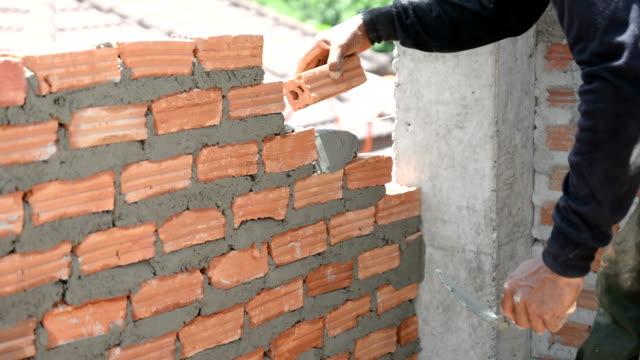 Brick installation video