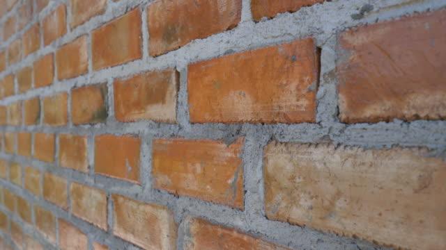 brick wall retro style